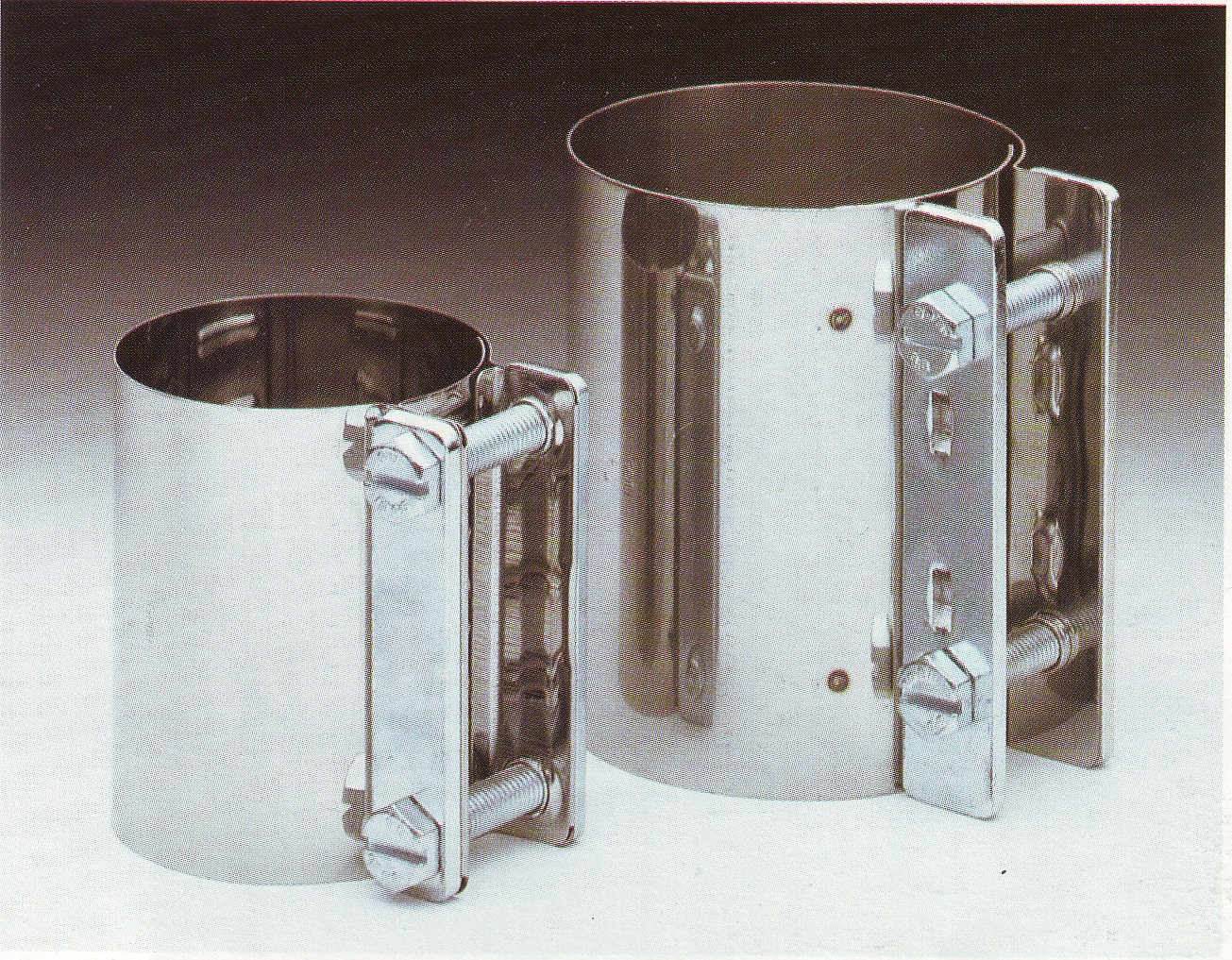 Stock-No  GHC-323B - GEMI® Hose Clamps (Wide band) - maqbelting de